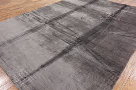 Brown And Gray Area Rug New 9 U0027x12 U0027 Soft Plain 100 Silk Brown Hand Knotted Wool Area Rug H9157
