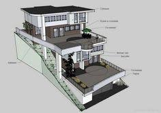 slope house plans castle type house plans steep slope house plans