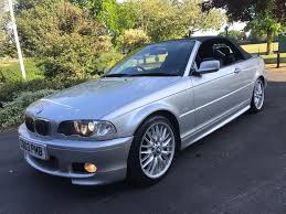 automatic bmw 330ci convertible soft top hard top in barking