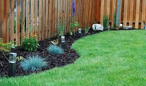 Backyard Flower Bed Ideas Landscaping Along Fence Line Backyard Flower Bed Designs Along
