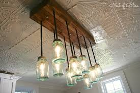 Jelly Jar Light Fixture Mason Jar Chandelier Nest Of Bliss