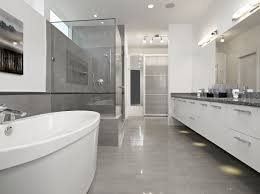 grey and white bathroom tile