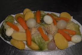 cuisiner la morue à la portugaise morue de noël cuit avec des légumes recette portugaise