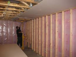 wondrous framing basement walls with steel studs spectacular