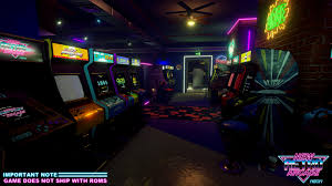 new retro arcade neon on steam