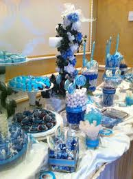 ideas for a candy table gender neutral baby shower treats table