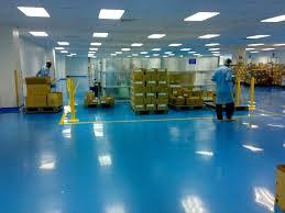 Commercial Epoxy Floor Coatings Epoxy Flooring Commercial Waxed Concrete Look Plc Laboratory
