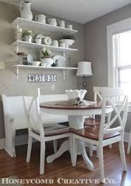Kitchen Nook by My Husband Built This Table And Bench Seating For My Nook Area I