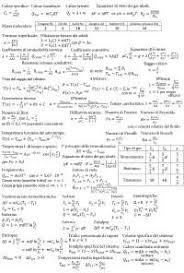fisica tecnica dispense fisica tecnica formulario cerca e scarica appunti gratis docsity