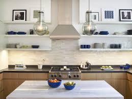 kitchen stunning kitchen open shelving modern 1438623080935