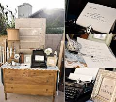 vintage wedding guest book creative vintage wedding ideas