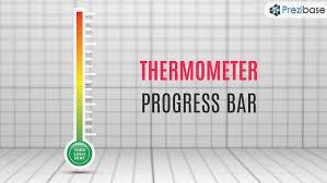 thermometer progress bar prezi template prezibasethermometer