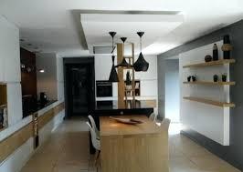 plafond de cuisine design lumiere plafond cuisine acclairage cuisine led plafond spot led