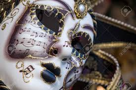 venetian carnival masks gold traditional venetian carnival mask venice italy europe stock