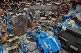 siege a seige of mars armies on parade spikey bits