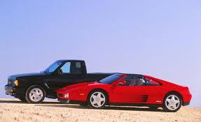 car ferrari gmc syclone vs ferrari 348ts u2013 archived comparison test u2013 car and