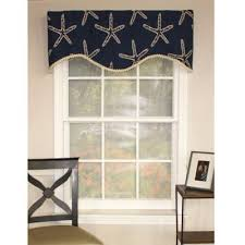 Matelasse Valance Buy Coastal Blue Window Valance From Bed Bath U0026 Beyond