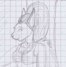 kool kat animal face sketch by ocelot nixx on deviantart