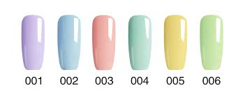 smoothie gel nail polish for 2017 spring in gift or