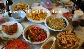 Dining Table With Food Themes Of The Dining Table Reviews