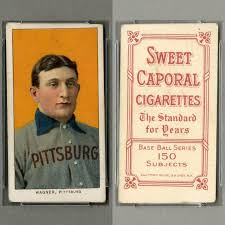 photo card exclusive honus wagner baseball card up for sale could beat 4 4