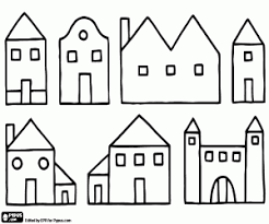coloring pages houses houses coloring pages printable games