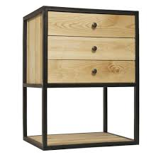 Metal Locker Nightstand Nightstands Industrial Bedside Cabinet Nightstands Metal
