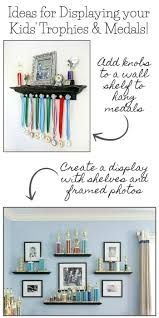 trophy and medal awards display ideas driven by decor