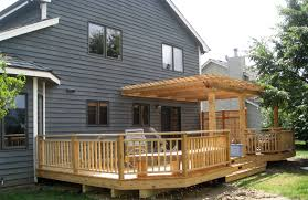 pergola design amazing pergola over deck ideas long pergola