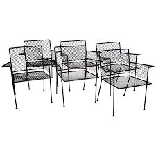 White Wrought Iron Patio Furniture by Viyet Designer Furniture Seating Van Keppel Green Wrought