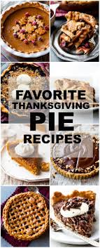 45 thanksgiving pie recipes sallys baking addiction