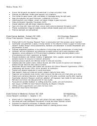 Clinical Research Coordinator Resume Melissa Hamm Resume 2016 Research Only