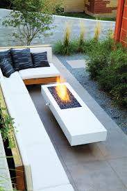 Patio Design Pictures Furniture Modern Patio Design With L Shaped White Patio Sofa