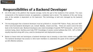 Access Database Developer Frontend Vs Backend Developer Youtube