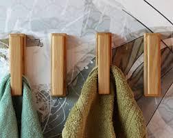 haken badezimmer set aus 2 eiche handtuchhaken wand montiert haken badezimmer