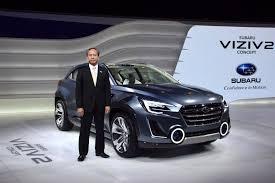subaru hybrid 2016 subaru viziv 2 concept previews future subaru design