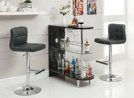 Kitchen Bar Furniture Coaster Fine Furniture 101063 102554 Contemporary Bar Table Set
