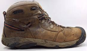 keen detroit mid top men u0027s soft toe work boots shoes sz us 9 5 m