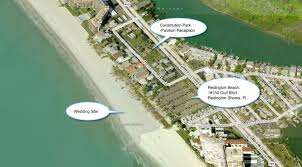 Clearwater Beach Florida Map by Constitution Park And Public Beach A Florida Beach Wedding