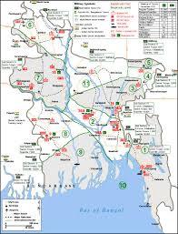 Map Of Bangladesh Maps Of Bangladesh List Of Sectors In Bangladesh Liberation War 1971