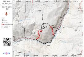 Yosemite Park Map Yosemite National Park Dog Rock Fire Information For Saturday