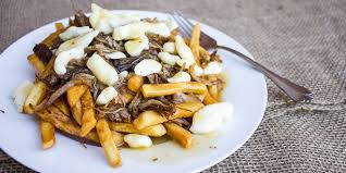 poutine cuisine pulled pork poutine with bbq gravy recipe
