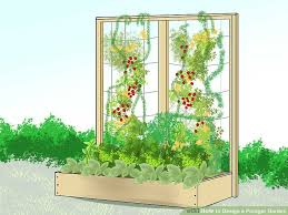 how to design a potager garden with pictures wikihow