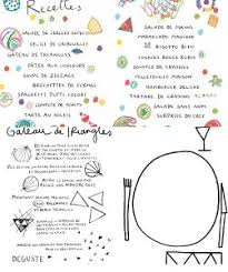 coloriage recette de cuisine cuisine ou coloriage la cuisine aux crayons livret ludique chez