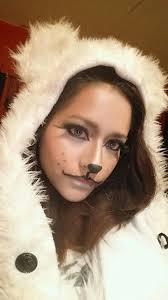 christmas makeup like a deer halloween costumes pinterest