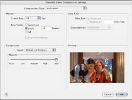 configuring quicktime movie settings