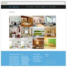 wordpress templates for websites free responsive interior design wordpress theme