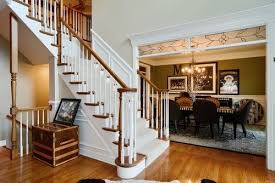 is there a trend to paint interior stained wood trim white