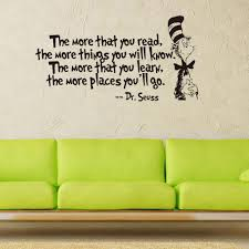 online get cheap dr vinyl aliexpress com alibaba group the more that you read quotes dr seuss wall mural vinyl quotes saying wall sticker home