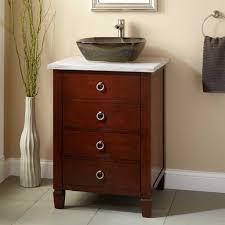 Walnut Vanity 24 Bathroom Vanity With Vessel Sink 405157 24 Walnut Vanity